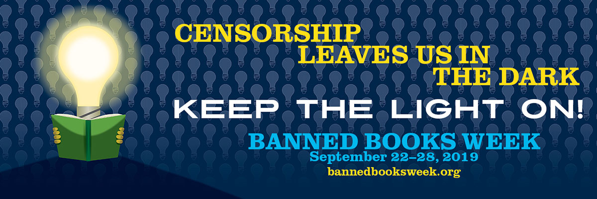 Banned books week 2019 banner image