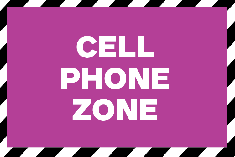 cell phone zone