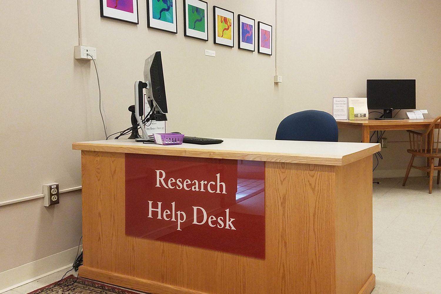 Research Help Desk Picture